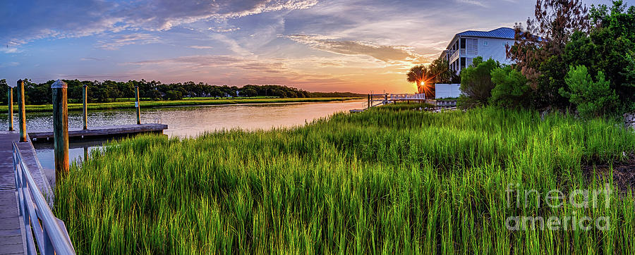 Sunrise at the Boat Ramp by David Smith