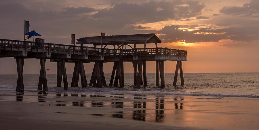 Sunrise At The Pier Photograph