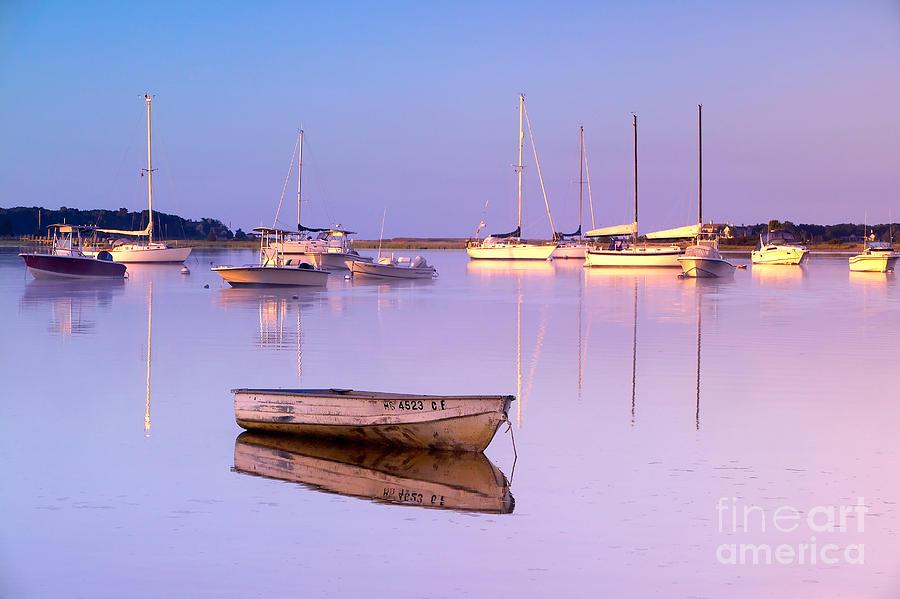 Sunrise Photograph - Sunrise At West Bay Osterville Cape Cod by Matt Suess