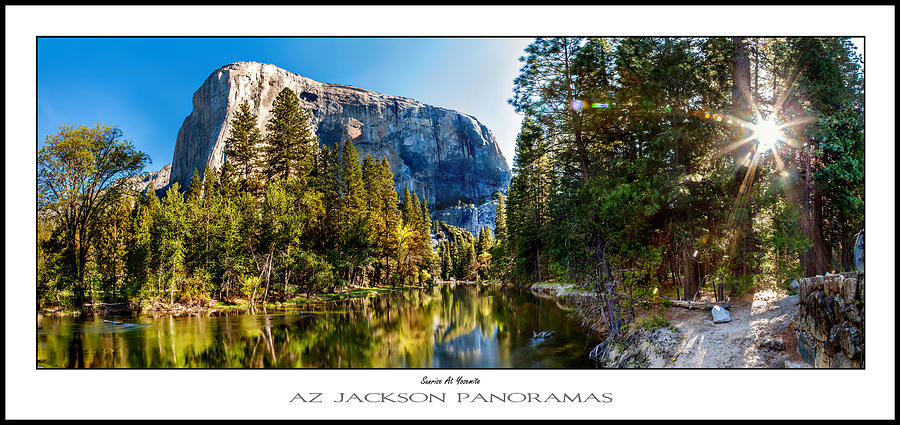Yosemite National Park Photograph - Sunrise At Yosemite Poster Print by Az Jackson