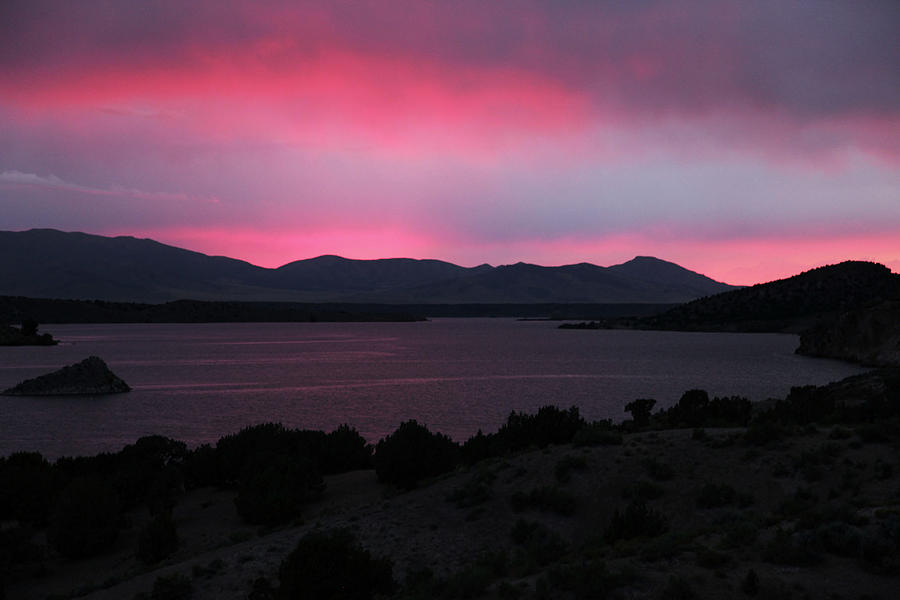 Sunrise Photograph - Sunrise at Yuba Lake by Dan Pearce