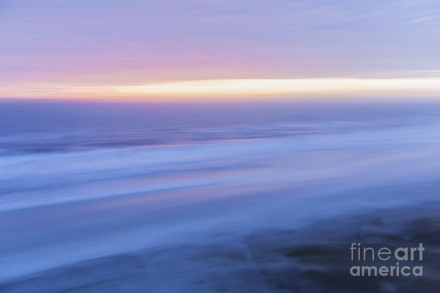 Ocean Photograph - Sunrise Atlantic 2 by Elena Elisseeva