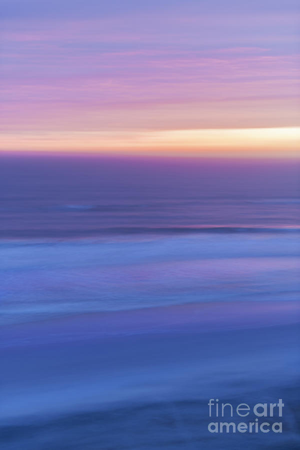 Ocean Photograph - Sunrise Atlantic 3 by Elena Elisseeva