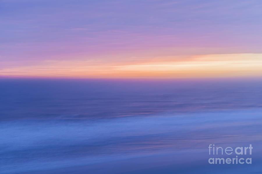 Ocean Photograph - Sunrise Atlantic 4 by Elena Elisseeva