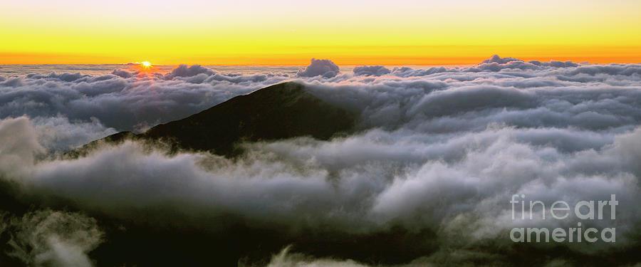 Sunrise atop Haleakala National Park by Frank Wicker
