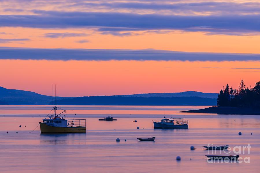 Sunrise Bar Harbor Photograph
