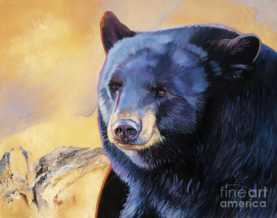 Sunrise Bear by J W Baker