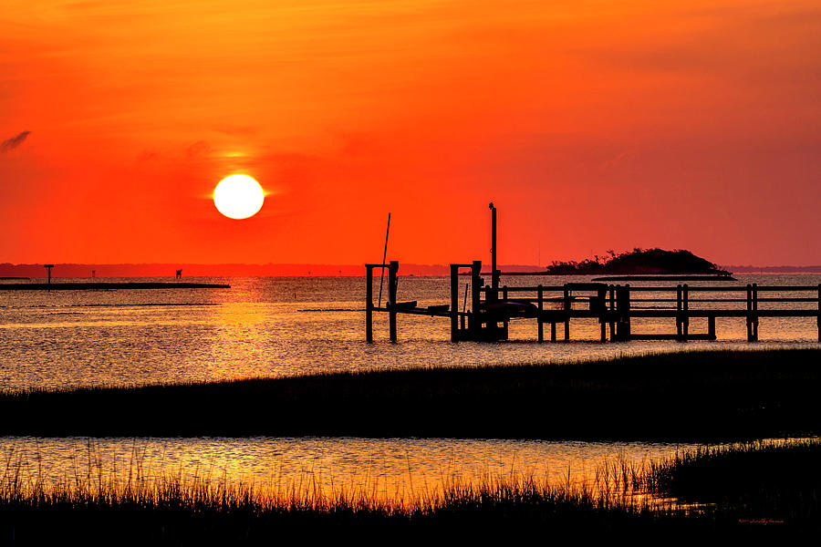 Sunrise - Bogue Sound by Timothy Harris