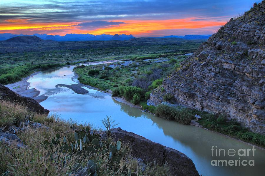 Santa Elena Photograph - Sunrise From Santa Elena by Adam Jewell