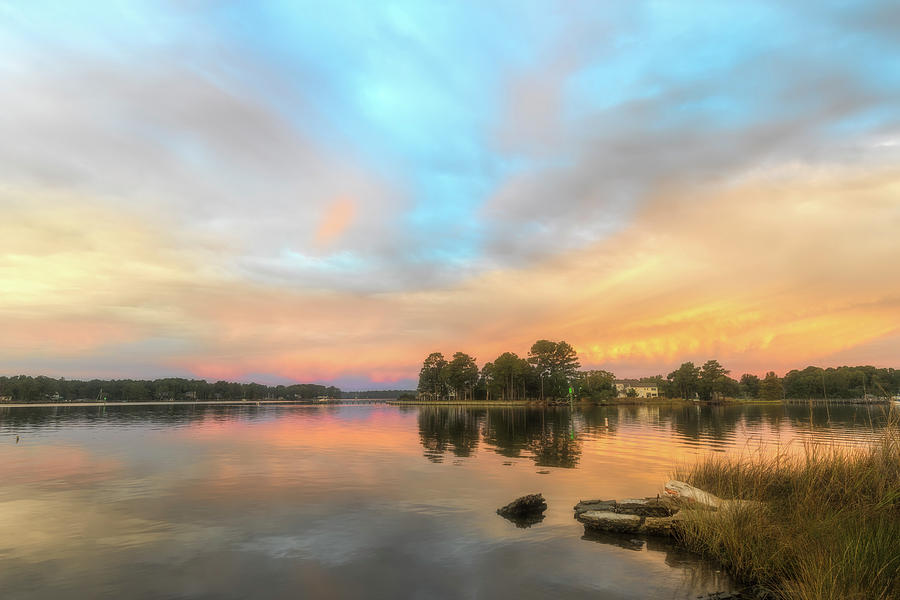 Sunrise, From the West by Cindy Lark Hartman