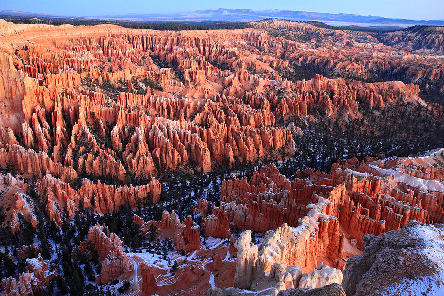 Bryce Photograph - Sunrise In Bryce Canyon Amphitheater by Pierre Leclerc Photography