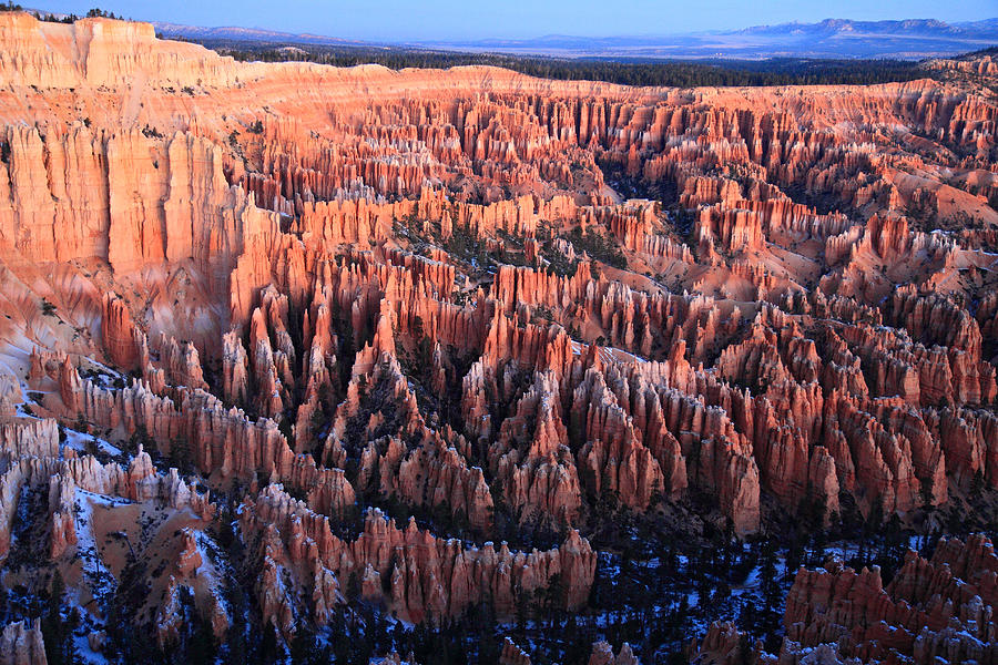 Bryce Photograph - Sunrise In Bryce Canyon National Aprk by Pierre Leclerc Photography
