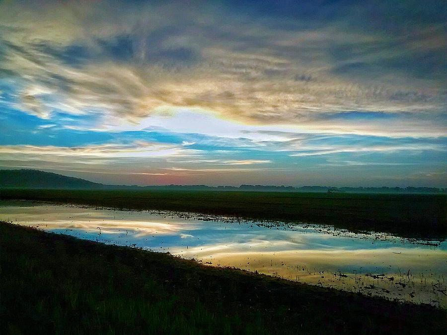 Sunrise Photograph - Sunrise In Doniphan Kansas by Dustin Soph