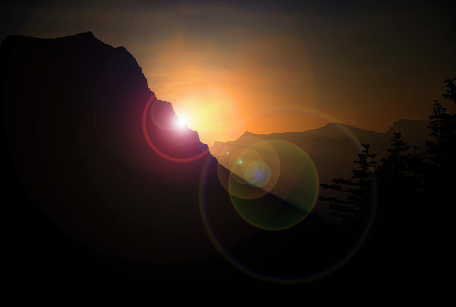 Sunrise Photograph - Sunrise in Glacier by Roy Nierdieck