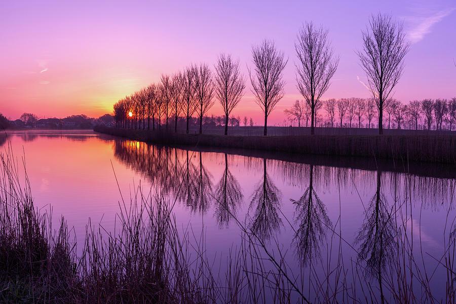 Sunrise in Holland by Susan Leonard