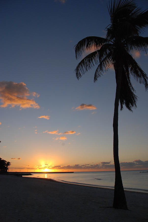 Florida Beaches Photograph - Sunrise In Key West 2 by Susanne Van Hulst