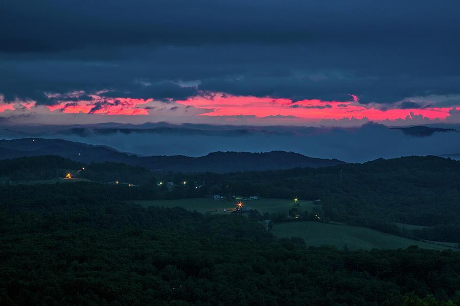 Sunrise In Pipestem West Virginia Photograph