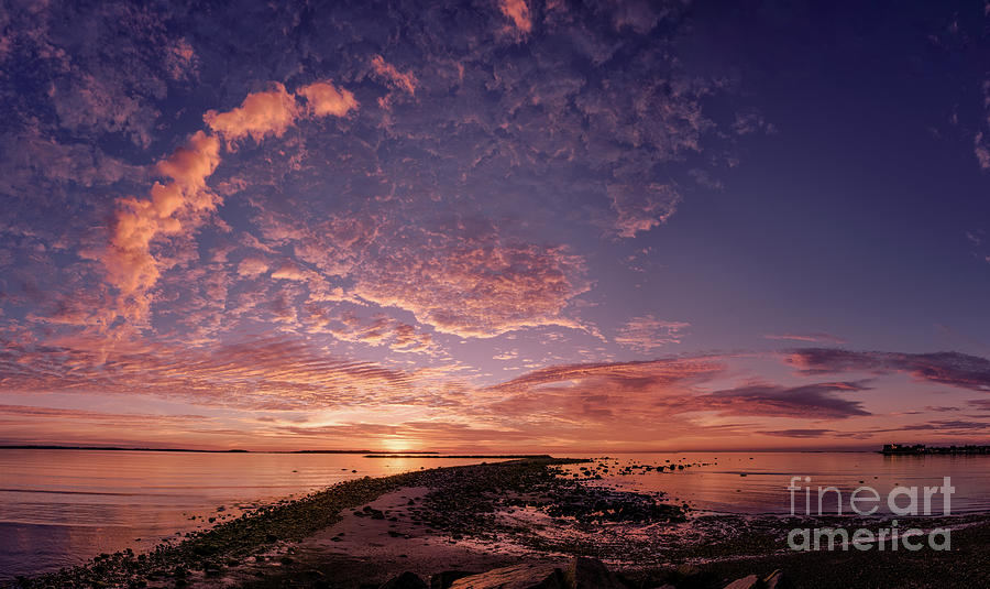 Sunrise In Revere Photograph