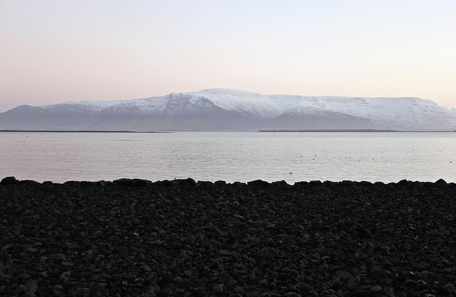 Sunrise Photograph - Sunrise In Reykjavik by Sean Flynn