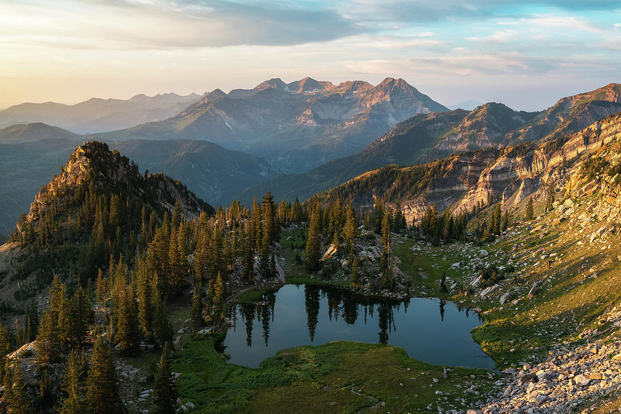 Sunrise In The Wasatch Photograph