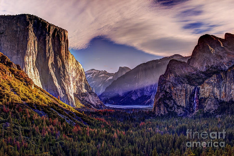 Sunrise In Yosemite by Paul Gillham