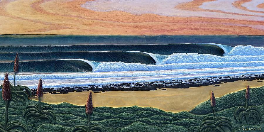 Sunrise, Jeffreys Bay  by Nathan Ledyard