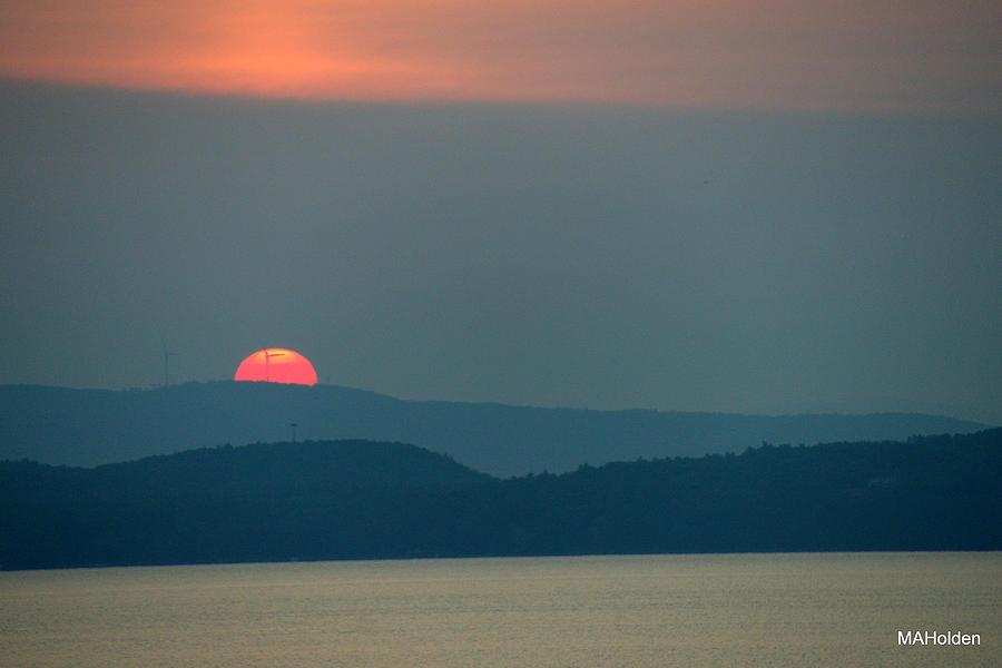 Sunrise Photograph - Sunrise July 6 2015 Mallets Bay  by Mark Holden