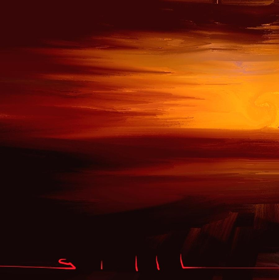 Sunrise Painting - Sunrise by Lee Gallaher