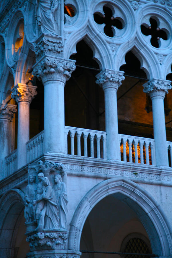 Doges Palace Photograph - Sunrise Magic in Venice by Ave Guevara