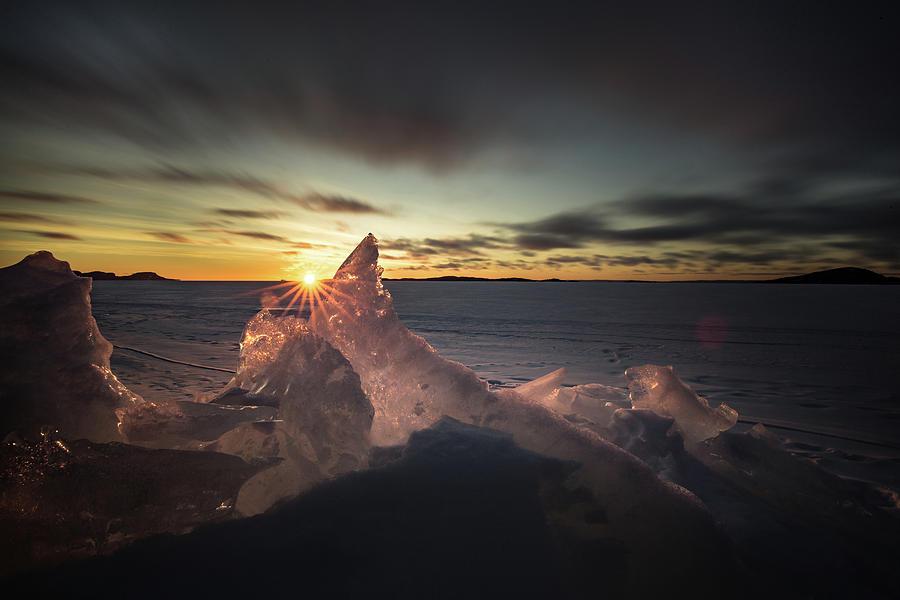 Bitter Photograph - Sunrise March 24 740 AM Sturgeon Bay by Jakub Sisak