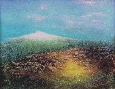 Sunrise Painting - Sunrise Mt. Washington by Brian Higgins