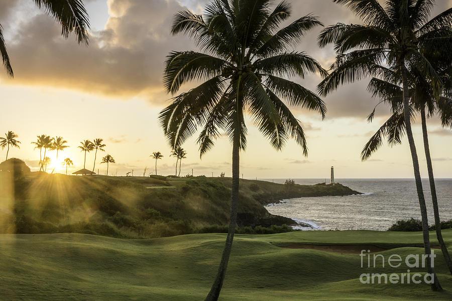 Sunrise Ninini Point, kauai by Gary Beeler