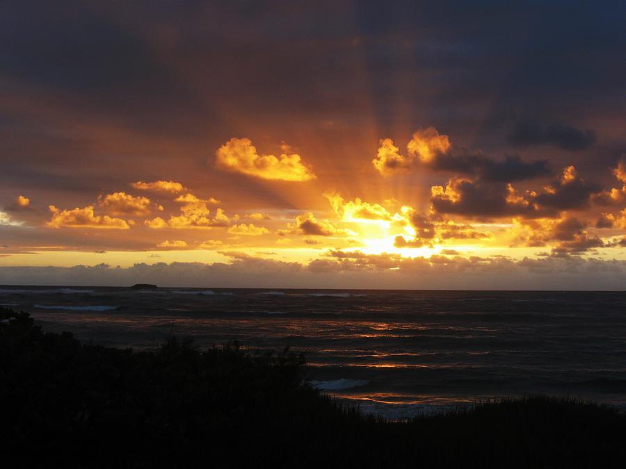 Hawaii Photograph - Sunrise North Shore Oahu 5 by Nancy Ippolito