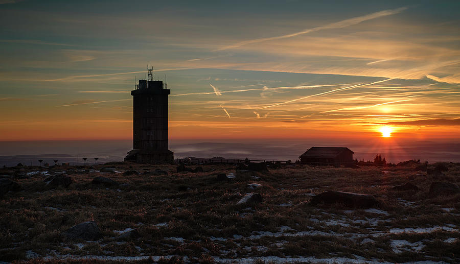 Sunrise On 1142m Photograph