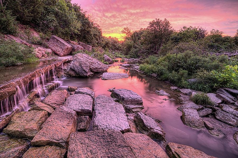 Pillsbury Crossing Photograph - Sunrise On Deep Creek by JC Findley