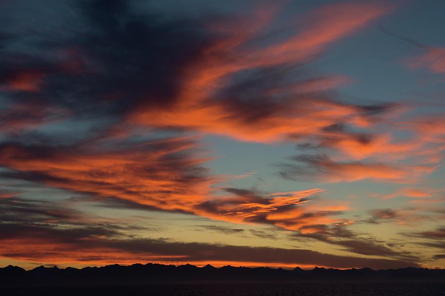 Sunrise On Fire Photograph