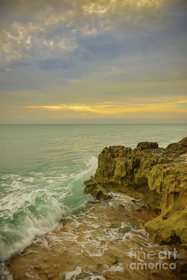 Sunrise On Hutchinson Island Florida by Olga Hamilton
