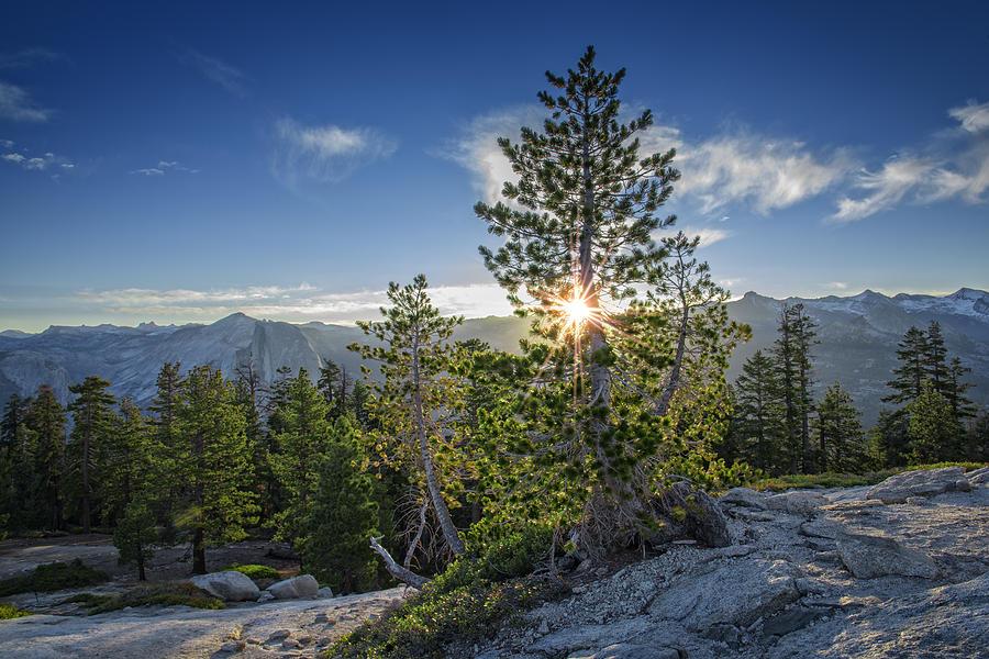 Yosemite Photograph - Sunrise On Sentinel Dome by Rick Berk