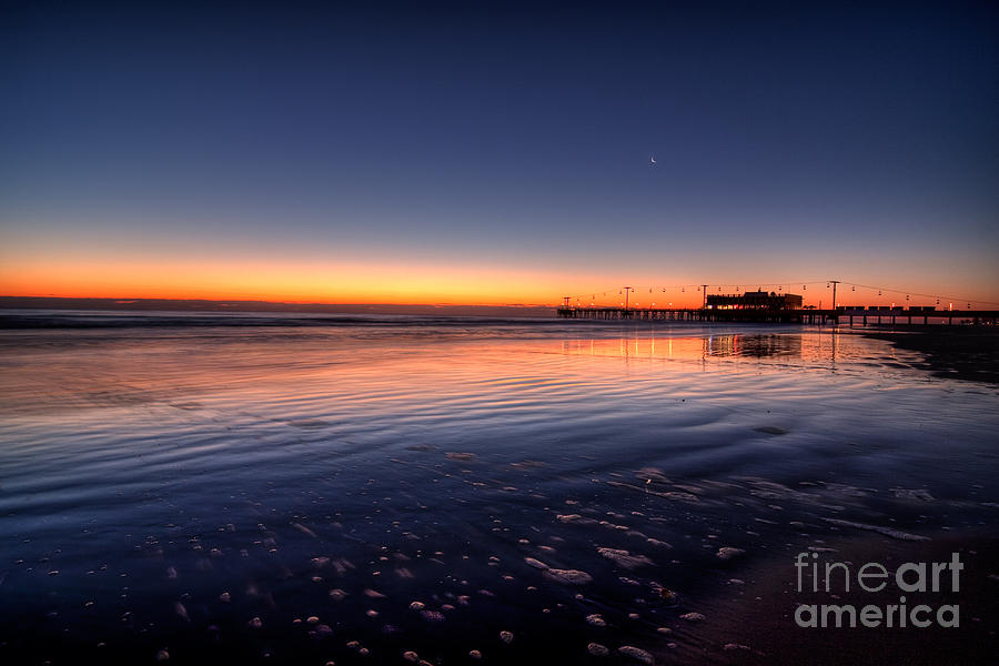 Sea Photograph - Sunrise On The Beach by Michael Herb