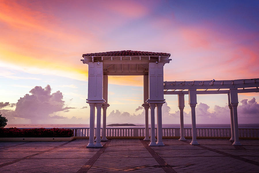 Caribbean Photograph - Sunrise On The Caribbean by Lorrie Joaus