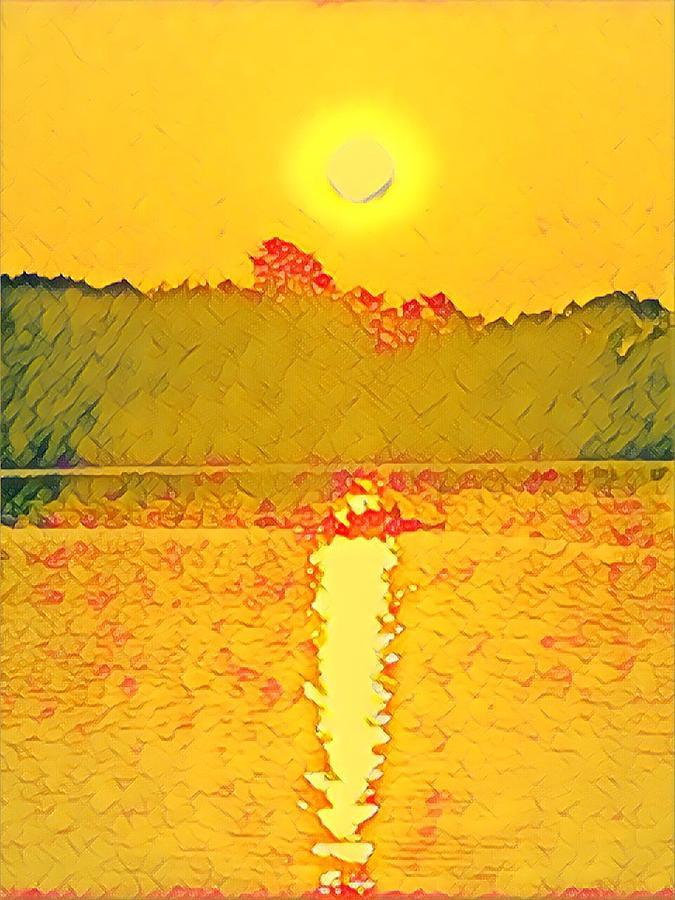Sunrise on Town Lake by Cherylene Henderson