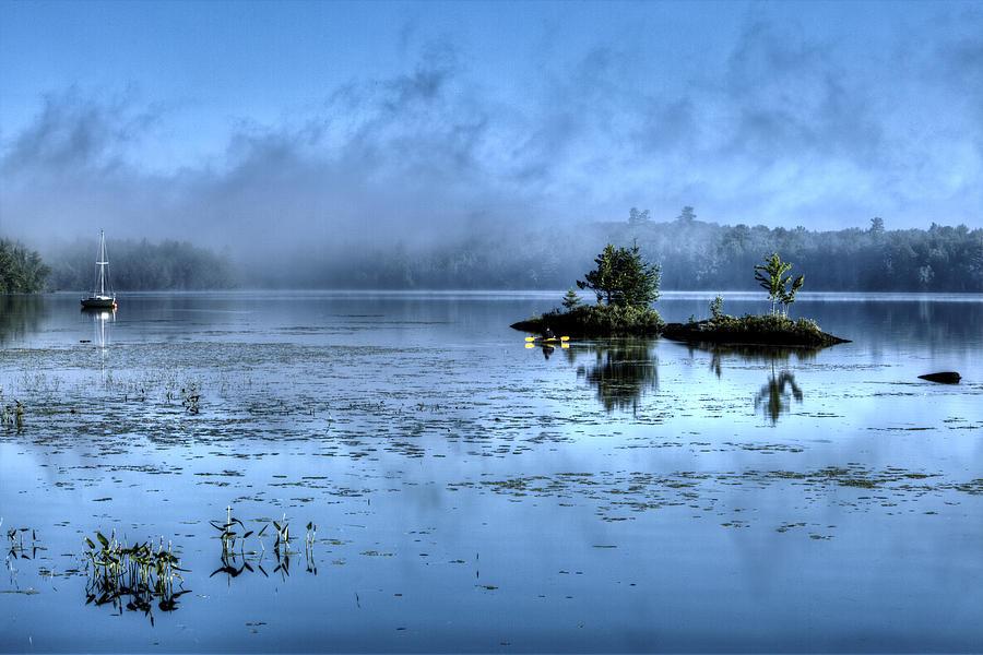 Sunrise on Umbagog Lake by John Sandiford