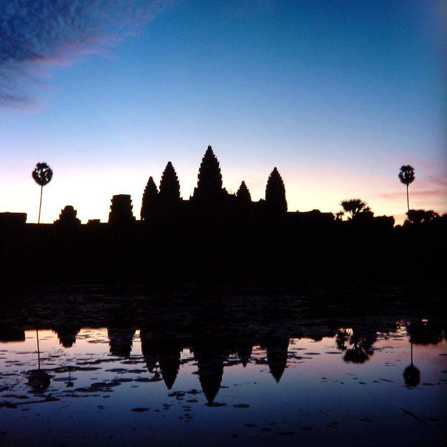 Cambodia Photograph - Sunrise Over Angkor Wat by David Seaver