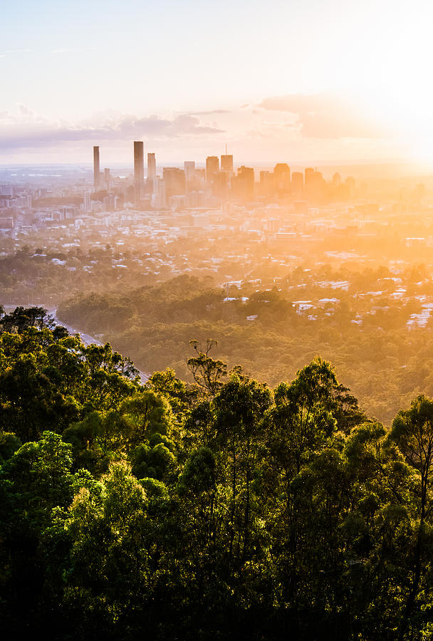 Sunrise Over Brisbane by Parker Cunningham