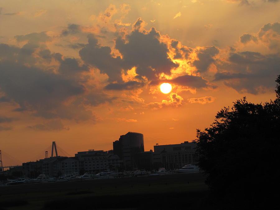 Charleston Photograph - Sunrise Over Charleston by Jason Moore