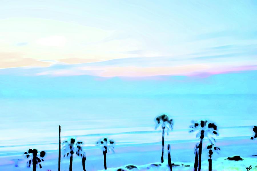 Sunrise over Daytona Beach One by Gina O'Brien
