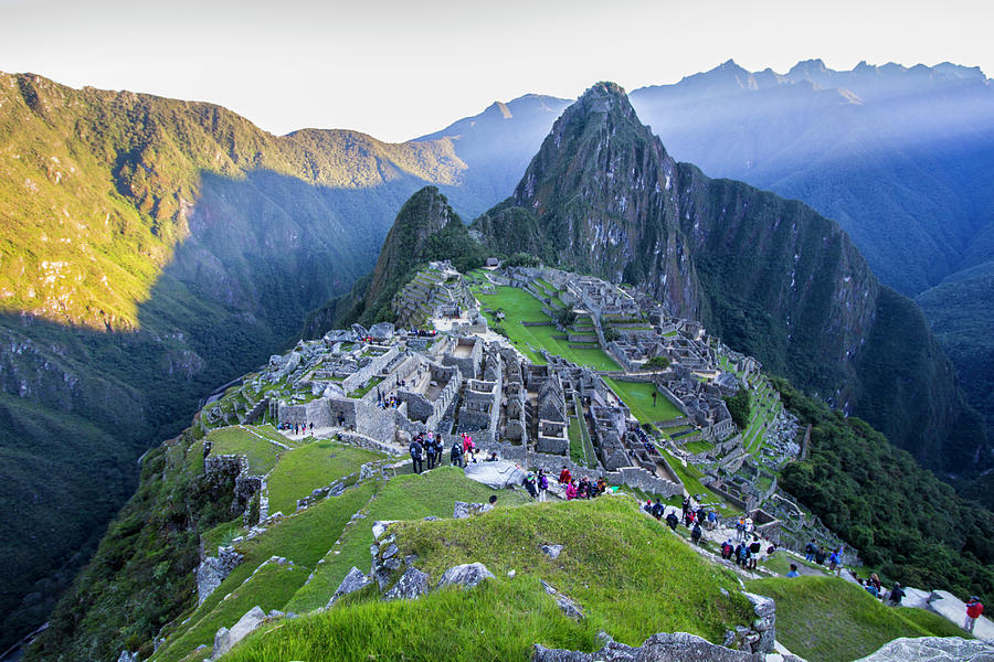 Sunrise Over Machu Picchu, Peru by Venetia Featherstone-Witty