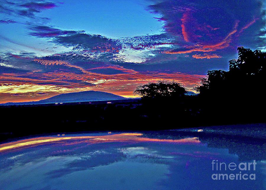 Sunrise Photograph - Sunrise Over Mauna Kea by Bette Phelan