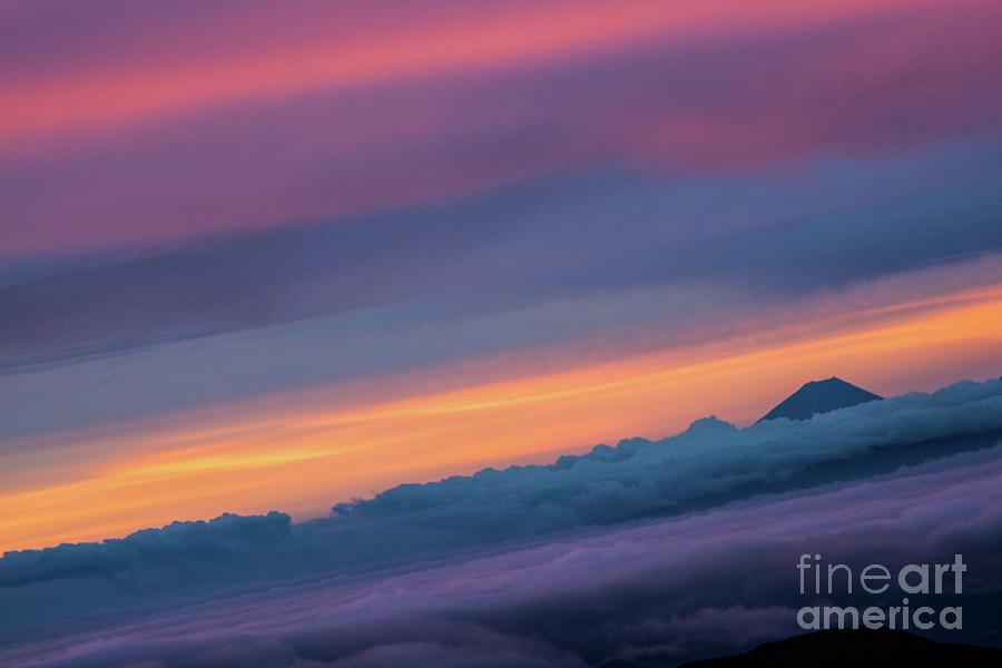 Sunrise Over Mt. Fuji Photograph