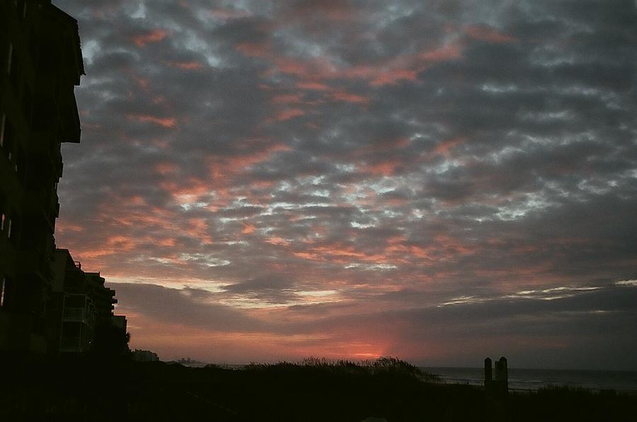Sunrise Over The Beach Photograph by Heather Shell Martin
